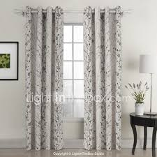 105 Inch Blackout Curtains by Two Panels Curtain Country Living Room 100 Polyester Cotton