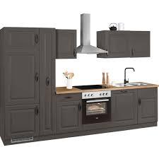 wiho küchen küchenzeile erla ohne e geräte breite 310 cm