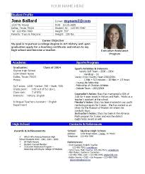 Student Athlete Resume Simple With Delightful For Preschool Teacher Also Sample In Addition Objective