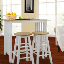 3pcs Breakfast Set Made With Solid Wood-White - Walmart.com Carolina Tavern Pub Table In 2019 Products Table Sets Sunny Designs Bourbon Trail 3 Piece Kitchen Island Set With Gate Leg Ding Room Shop Now For The Lowest Prices Leons Dinettes And Breakfast Nooks High Top Dinette Just Fine Tables Farm To Love Last Part 2 5 Windsor Back Counter Chairs By Best These Gorgeous Farmhouse Bar Models Buy French Country Sets Online At Overstock Our Add Stylish Rectangular Residential Or Commercial Fniture Lazboy Adorable Small And Standard