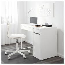 bureau laqué blanc ikea micke bureau blanc 105x50 cm ikea