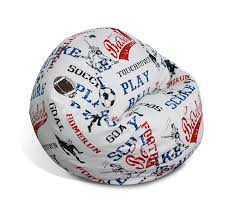 Junior Print Sports American Blue/White Beanbag 30-1011-6056 Bean Bag Factory Soccer Chair Cover Stuffed Animal Storage Seat Plush Toys Home Organizer Beanbag Amazoncom Ball Sports Kitchen Kids Comfort Cubed Teen Adult Ultra Snug Fresco Misc Blue Gold Nfl Los Angeles Rams Pretty Elementary Age Little Girl On Sports Day Balancing Cotton Evolve Faux Suede Gax Sport Large Small Classic Chairs Sofa Snuggle Outdoor And Indoor Big Joe In Sportsball