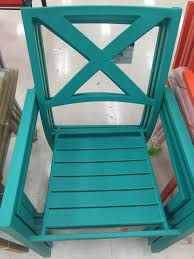 Stack Sling Patio Chair Turquoise by The Hunt How To Furnish Your Entire Patio For Under 80 00 At
