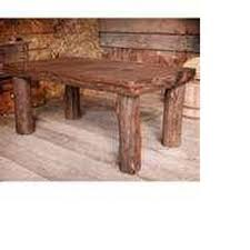 How To Make Log Cabin Furniture