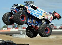 100 Monster Trucks Colorado Ice Cream Man National Speedway Starr Photo MONSTER