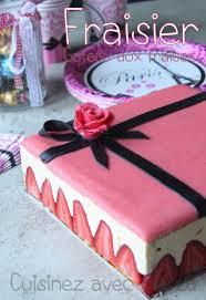 gateau pate d amande facile le fraisier le gâteau aux fraises par excellence une génoise