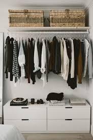 legende diy open concept closet fashionista