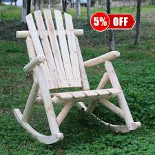 Amazon.com: Kdgarden Cedar/Fir Log Adirondack Rocking Chair ... Lakeland Mills Patio Glider With Contoured Seat Slats Briar Hill Adirondack White Cedar Outdoor Rocking Chair 5 Rustic Low Back Rocker Chairs The Ozark New York Craftsman Style Fniture Traditional Porch Sunnydaze Decor Fir Wood Log Cabin Loveseat Fan Design 2person 500 Lbs Capacity Generations Chaircedar Unfinished Branded Fish 25w X 36d 39h 23 Wide Swivel Natural High Double