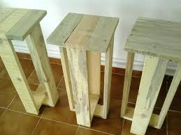 Home Design Alluring Pallet Bar Stool Plans Home Design Pallet