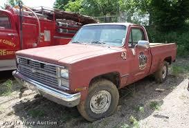 100 1983 Chevrolet Truck 20 Pickup Truck Item BI9550 SOLD June 19