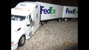 100 Ups Truck Toy Unboxing UPS Fed Ex Doubles Scale YouTube
