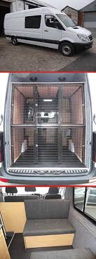 Trio Of Images From K IX K9 Camper Kong Mercedes Sprinter Van Conversion