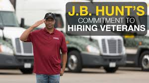 J.B. Hunt Trucking Offers Veteran Jobs - YouTube Traing For Veterans Cape Fear Community College Crete Carrier Gives Five New Trucks And Inducted Them Into Trucking Industry Wreaths Across America Honor Vets Your First Year As A Trucker Driver What You Should Expect United A Memorial Day Message To All From Dart Transit Company Truck Driving Jobs Cdl Class Drivers Jiggy 8 Reasons Hire Veteran Melton Mile Marker For Colorado Wyoming Pilot Program Military On Road Dog Fmcsa Penske Support Programs Place In Commercial