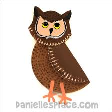 Owl Paper Plate Craft For Kids From Daniellesplace