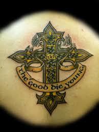 Cross Tattoos On Chest
