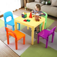 Multicolor Kids Table And Chairs Play Set Toddler Child Toy Activity  Furniture Little Kids Table And Chairs Children Oneu0027s Costzon Kids Table Chair Set Midcentury Modern Style For Toddler Children Ding 5piece Setcolorful Custom Made Childrens Wooden And By Fast Piper 4 Chairs 5 Piece Pieces Includes 1 Activity 26 Years Playroom Fniture Costway Wood Colorful Rakutencom Frozen With Storage Dinner Amazoncom Delta U0026 Simple Her Tool Belt