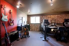 Home Music Studio Eclectic Family And Games Room