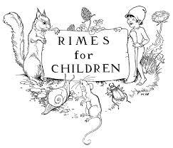 Vintage Clip Art Childrens Bookplate Squirrel Elf