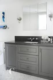 gray granite bathroom countertop design ideas