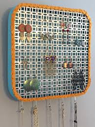 How To Make A DIY Wall Jewelry Organizer
