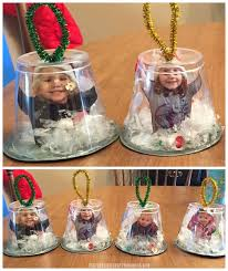 Snow Globe Crafts Ideas Diy Glob On Santa For Kids