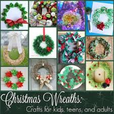 Origin Of Wreaths And 10 Christmas Wreath Projects For Kids Teens Adults