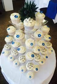 London Cakes Royal Blue Wedding Cupcakes Cake At Sofitel Hotel N Cupcake In Motif Homemade
