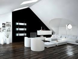 brillant wohnzimmer modern schwarz weiß wohnung