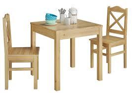 gemütliches tisch stuhlset kiefer massiv esszimmermöbel 90 70 50 a set 20