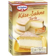 dr oetker backmischung für käse sahne torte 385 g