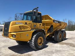 2013 John Deere 300D Articulated Dump Truck For Sale, 4,904 Hours ...