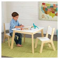 Kidkraft Star Childrens Table Chair Set by Modern Table And Chair Set Of 2 Kidkraft Target
