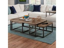 100 Living Room Table Modern Simmons Upholstery 7326 732645 Contemporary Industrial Nesting
