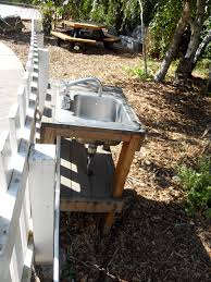 Mobile Self Contained Portable Electric Sink by Portable Outdoor Garden Hose Sink 379 Kitchens Pinterest