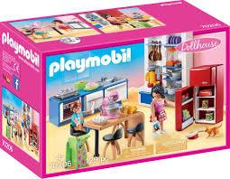 playmobil dollhouse wohnküche 70206