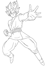 Para Colorear Goku Black Acelesitecom