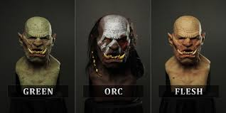 Halloween Silicone Half Masks by Ogre Silicone Mask 550 416 Http Immortalmasks Com Shop