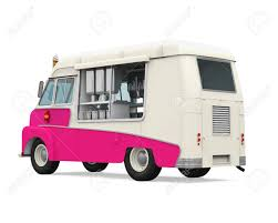 Ice Cream Truck Stock Photo, Picture And Royalty Free Image. Image ...