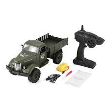 100 Rc Military Trucks JJRC Q61 116 24G 4WD RC Off Road Truck Transporter RC