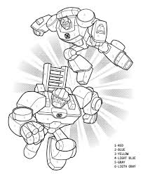 Rescue Bots Fire Truck Coloring Page | From Optimus Prime Rescue Bot ...