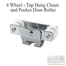Wheel 7 8 Dia Top Hung Closet & Pocket door Roller