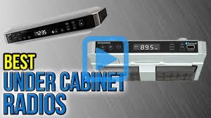 top 6 under cabinet radios of 2017 video review