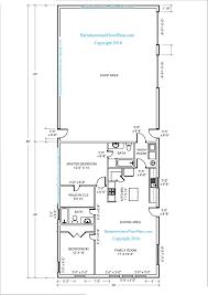30 X 30 House Floor Plans by Floor Plans Barndominium Floor Plans 30x50 House Plans