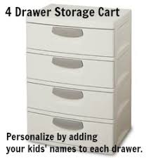 Sterilite 4 Drawer Cabinet Platinum by Sterilite 4 Drawer Unit Chest Of Drawers