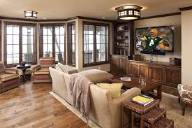entertainment center ideas family room contemporary with recessed