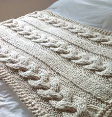 Cable Knit Throw Pottery Barn by Knitted Throw Rugs Roselawnlutheran
