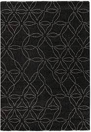 schöner wohnen davinci teppich 160x230 schwarz grau
