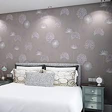 koreanische löwenzahn rosa tapete schlafzimmer wohnzimmer