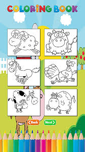 Farm Animals Coloring Book For Kids And Toddlers