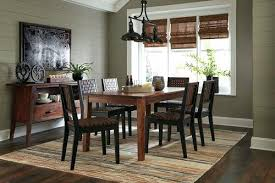 Fancy Dining Room Server Tables Brown 8 Reclining Table 6 Side